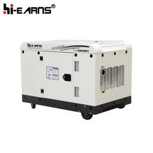 De luchtgekoelde van de Diesel van Twee Cilinder Rode Kleur Reeks van de Generator (DG16000SE)