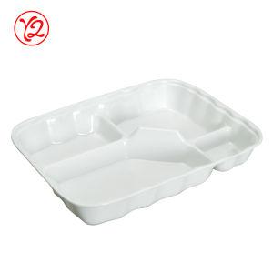 Toutes les tailles plus tard comme la mélamine de vaisselle en céramique de la plaque de Fast Food boîte bento