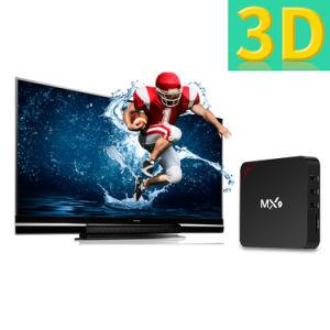 Mx9 Android 6.0 Google Internet Fernsehapparat-Kasten mit des Felsen-Chip-3229 Support 4K HD Vierradantriebwagen-des Kern-64bit 1GB 8GB 2.4GHz WiFi