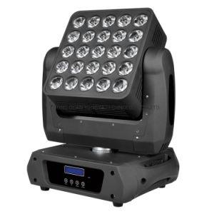 2020 DJ LED 25*10W faisceau RGBW Disco le déplacement de l'épiaison lumière