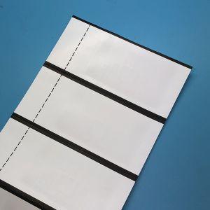 860-960MHz tecido impresso Personalizado UCode 7 AD-383 Etiqueta UHF RFID para solução de vestuário