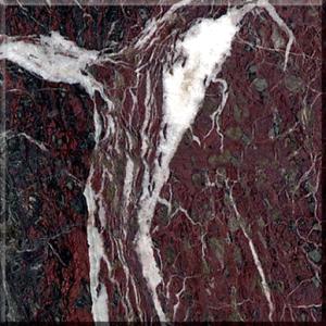 自然なRosso Levantoの大理石の平板のタイル
