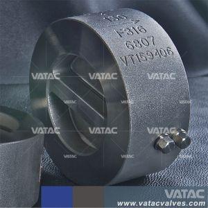 API 6D de la brida industrial o de fundición de hierro forjado de obleas o bolas de acero inoxidable o de giro la válvula de retención