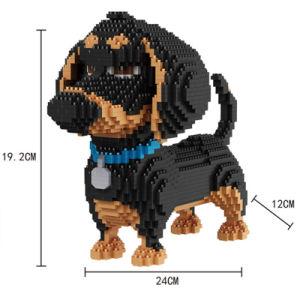 Blocos Nano do ABS dos brinquedos 2100PCS dos tijolos do bloco da instrução (10283715)