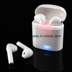 I7s de Tws gemelos inalámbrico Bluetooth Auriculares doble Earpods estéreo auriculares intrauditivos auriculares.