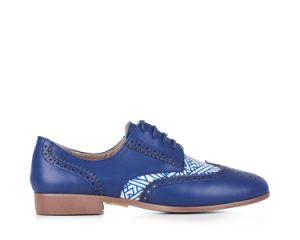 Cheap Wholesale Mujeres Mujeres Suede dedo plano señaló Oford Toe zapatos de suela