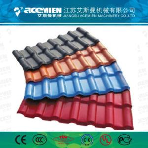 Haute qualité Tuile de Vitré en plastique PVC Extrusion Making Machine en Chine