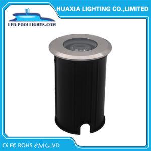 IP68 3W正方形か円形ベースが付いている屋外のInground LEDの庭ライト