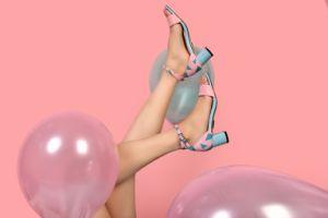 Mesdames sandales pour les femmes 2018 Nouvelle tendance High Heels chaussures d'été