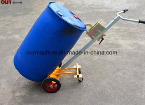 Camion industriali del timpano della rotella di De450d 4, acciaio/camion di plastica del timpano con quattro rotelle