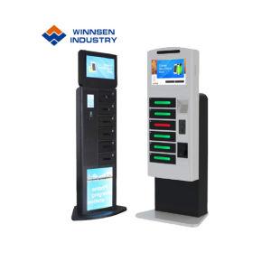 Freies stehendes Geld empfangen intelligenter Systems-Einkommens-Report Functinon Handy-Ladestation