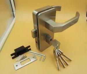 Vidro de liga de zinco de alta qualidade para a fechadura de porta de vidro