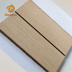 Réduction de son bois de construction en bois Panneau acoustique sons basse fréquence