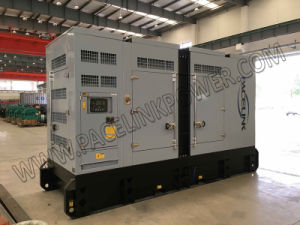 275kVA Cummis Powered silencieuse avec ce groupe électrogène diesel/ ISO