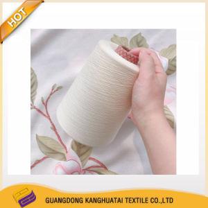 Ne40/2 -100/2 doble hilo de algodón peinado mezcla de algodón de grapas largas con alta calidad