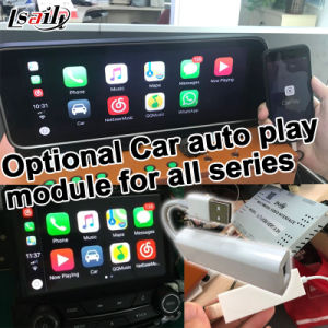 Lsailt Android Caja de navegación GPS para el Infiniti QX70 / Fx con Yandex Carplay 2012-2018 Waze opcional