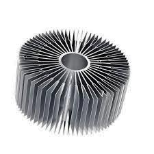 Fundición de aluminio moldeado a presión / Metal / aluminio moldeado a presión de disipador de calor de la producción OEM