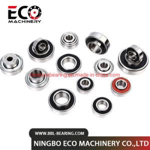 Extendido especial personalizada de los anillos de sellado más gruesa de cojinetes de bolas de ranura profunda en miniatura de 608/625/696/6002/6202