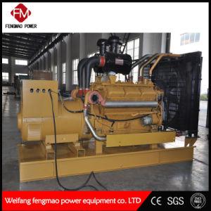 GENERATOR-Set des Shanghai-Diesel-600 leises automatisches Dieselkilowatt-/750kVA hergestellt in China