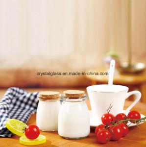 100ml 200ml de leite em vidro transparente/vaso de pudim de resistência de aquecimento