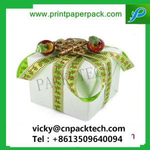 A medida Elegante joyero de embalaje colorido Festival a favor de caja de regalo con cinta de opciones