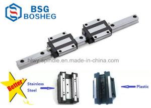 高精度の機械装置装置(HSR35LR)のための線形案内面のキャリアベアリング