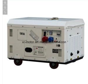 Air-Cooled 10kw極度の無声電気ディーゼル発電機