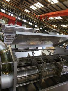 De hete Ontwaterende Apparatuur van de Modder van de Schroef van de Verkoop voor ETP of de Behandeling van het Afvalwater Wwpt