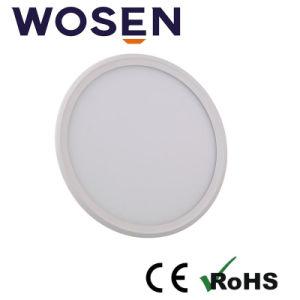 30W indicatore luminoso di comitato ultra sottile di plastica del coperchio LED per il soffitto