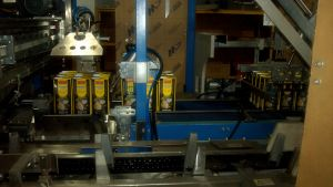 Caja de cartón Máquina de embalaje de carga lateral de la cerveza y vino el embalaje Wj-Llgb-15