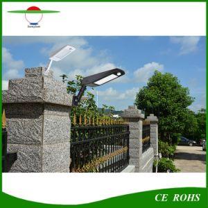 Ajustableの動きセンサー48LEDの屋外の庭ランプの太陽壁ライト