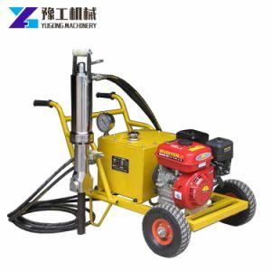 Divisore elettrico idraulico della roccia del fornitore della Cina con il blocco alimentatore