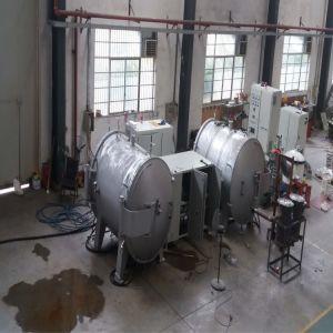 大きい容量の誘導加熱の真空の黒鉛化の炉