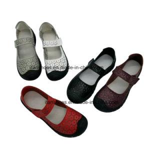 نمو مسطّحة نساء متعطّل يصمد أحذية مع الزلّة على أحذية [غود قوليتي] جدّا