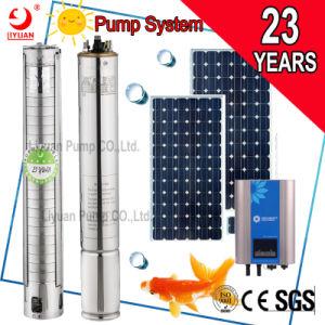 380V DC AC de l'eau à énergie solaire de l'irrigation vertical du moteur de pompe submersible