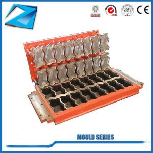 Kleber-vollautomatische hydraulische Block-Maschine des Druck-Qt6-15