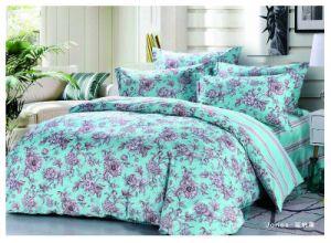 100% algodón200tc conjunto de ropa de cama de pigmento