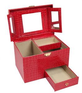 جلد مستحضر تجميل صندوق مع تعقّب هويس مرآة ([6005ر1])