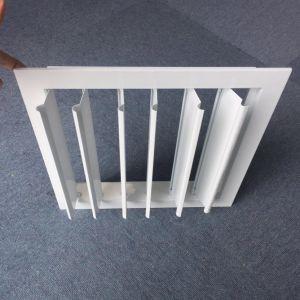 Hvac-Qualitäts-Aluminiumluft-Luftschlitz-Schwerkraft-Luftschlitz-justierbarer Luftschlitz