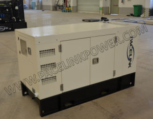 15kVA Yangdong dreef Geluiddichte Diesel aan die Reeks met Enige Fase Ce/ISO produceren