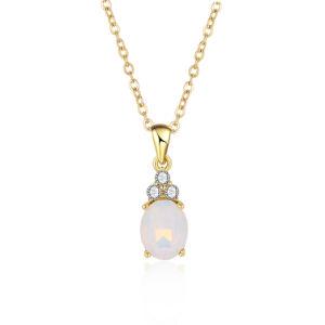 Мода женщин Opal украшения Opal рельефная подвесной ожерелья украшения мода Аксессуары Ювелирные изделия моды в подарок