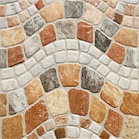 De steen kijkt Ceramiektegel voor OpenluchtVloer