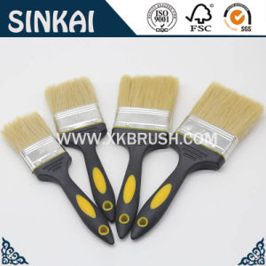 Geschäftsversicherungs-Flachpinsel-Borste-Lack-Pinsel