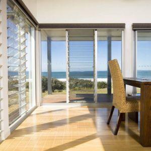 Las persianas de aluminio de gran estructura de aluminio Ventanas a la venta