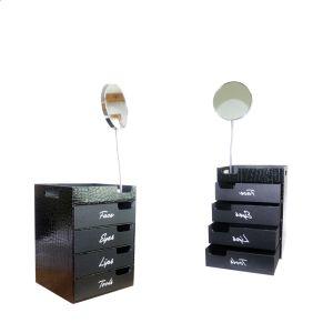 رف مجوهرات تخزين متعدّد ساحب حالة مجوهرات [بكينغ بوإكس] (8161)