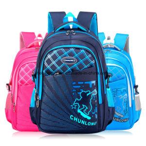 De eenvoudige Nieuwe Schooltas van de Rugzak van het Kind van de Jonge geitjes van het Ontwerp Nylon Waterdichte