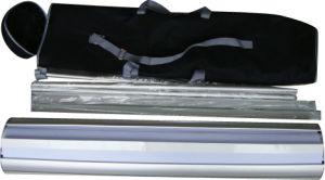 Innen- und im Freienfahne Dispay-Rollen up/Banner Standplatz (DW-R-S-7 85CM doppelte Seiten)