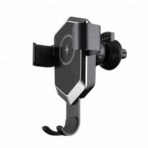2018 новый патент беспроводных мобильных автомобильное зарядное устройство с инфракрасным - Ray индукции для iPhone X/ iPhone 8 Plus и других интеллектуальных мобильных телефонов