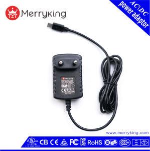 TUV CB AC адаптер питания постоянного тока 12V 500 Ма 1A Ce адаптер переменного тока с ЕС разъем