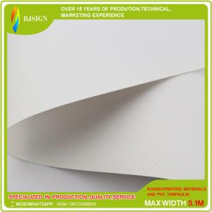 450GSM PVCデジタル印刷上塗を施してあるFrontlitのための上塗を施してある旗の屈曲